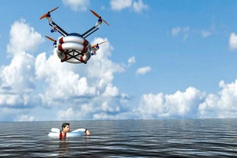 ربات امداد ربات امداد هوایی برای نجات غرق شدگان در دریا 39 765x510