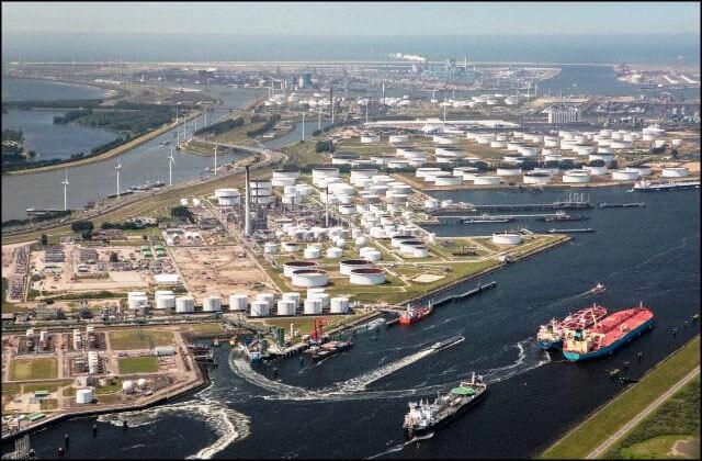 offshore14 بندر رتردام بندر رتردام؛ دروازه نفتی اروپا offshore14