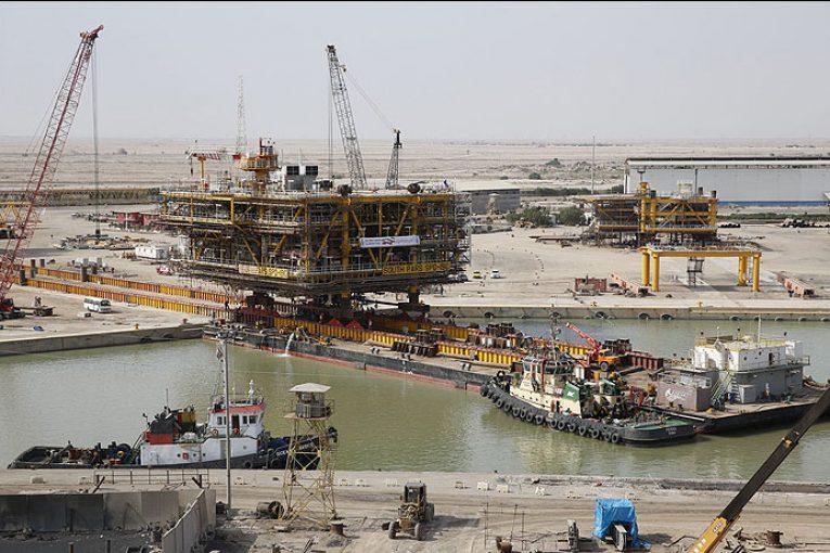 عملیات بارگیری سکوی ١٨B فاز ١٨ پارس جنوبی پایان یافت offshore011 765x510