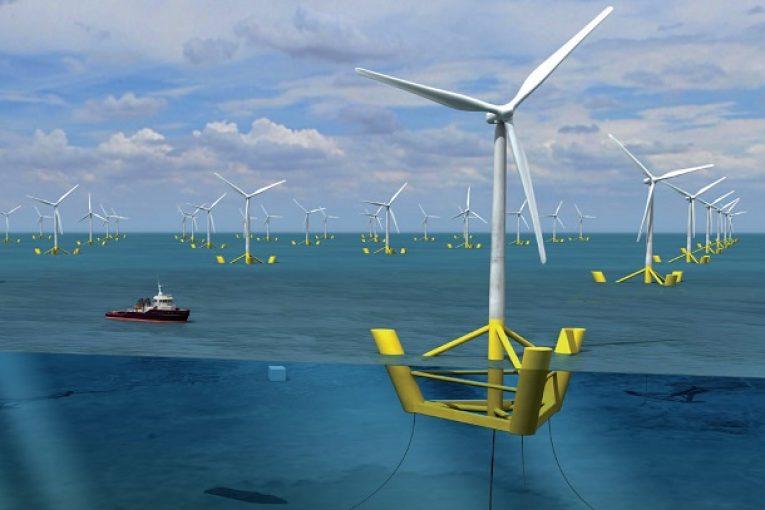 توربین شناور مهار بادهای قوی و پایدارتر و تولید انرژی با توربینهای بادی شناور offshore482 765x510