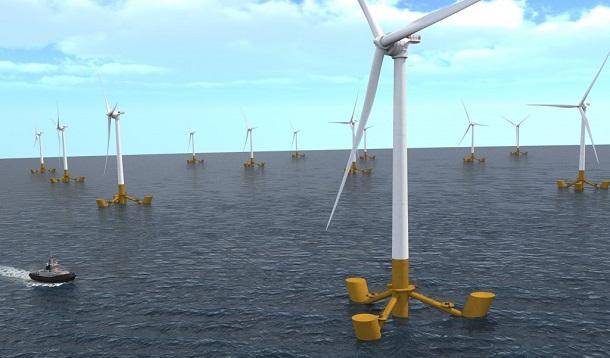 offshore483 توربین شناور مهار بادهای قوی و پایدارتر و تولید انرژی با توربینهای بادی شناور offshore483 1