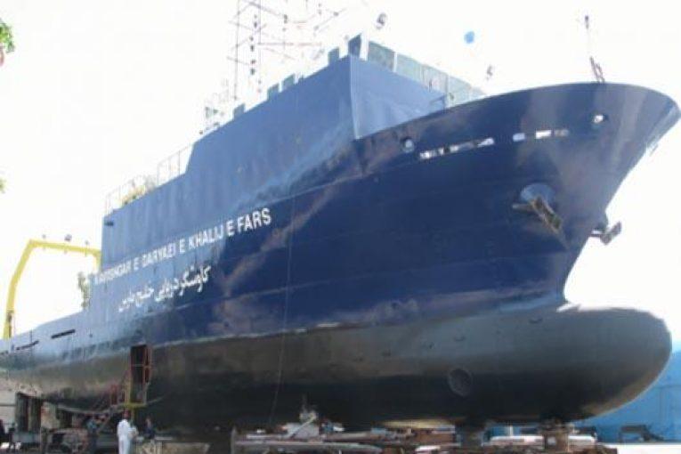 کشتی تحقیقاتی خلیج فارس کشتی تحقیقاتی خلیج فارس offshore513 765x510