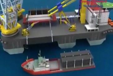 اجرای خط لوله زیر دریایی در آبهای عمیق به روش J-lay