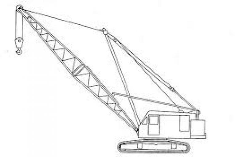 جرثقیل بوم خشک چرخ زنجیری مدل بالا از ۲۵۰ تن تا ۶۰۰ تن جهت اجاره images 765x510