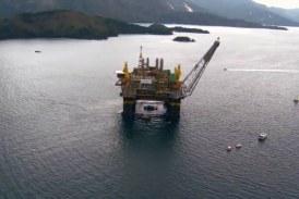 یکی از پیچیده ترین پروژه های فراساحلی نفتی در آبهای عمیق