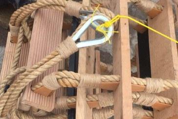 پله چوبی در ابعاد مختلف