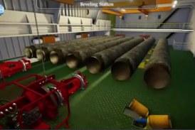انیمیشن لوله گذاری دریایی به وسیله شناور اوشنیک ۵۰۰۰