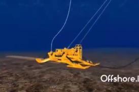 انیمیشن کابل اندازی در دریا