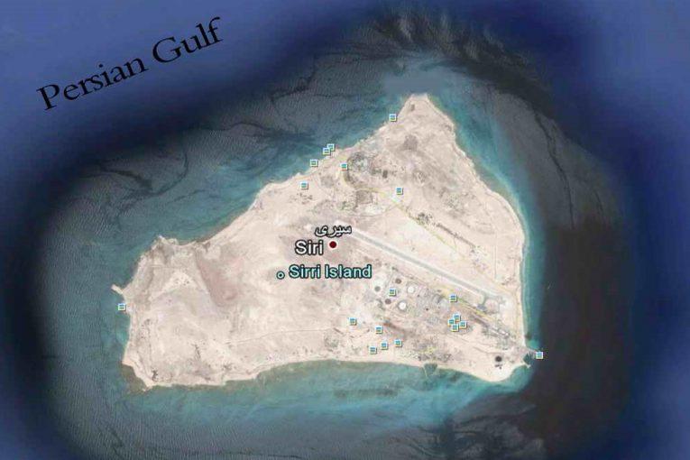 جزیره سیری جزیره سیری سرمایه گذاری بخش خصوصی در تاسیسات پشتیبانی منطقه سیری Siri Island PersianGulf 765x510