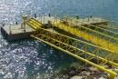 سازه های دریایی سنگین  قطعات پلی یورتان  اسکله شناور