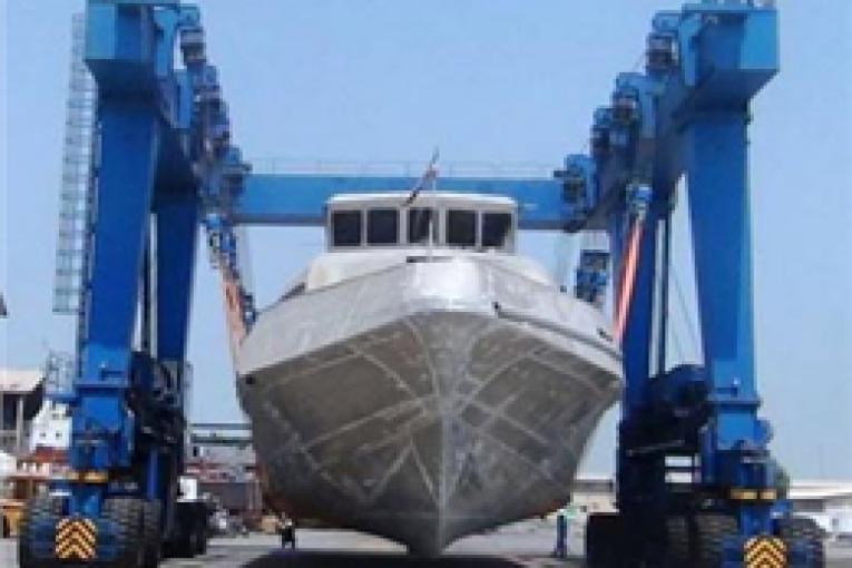 جرثقیل حمل شناور جرثقیل حمل شناور اولین جرثقیل حمل شناور ساخت کشور رونمایی شد 23 765x510