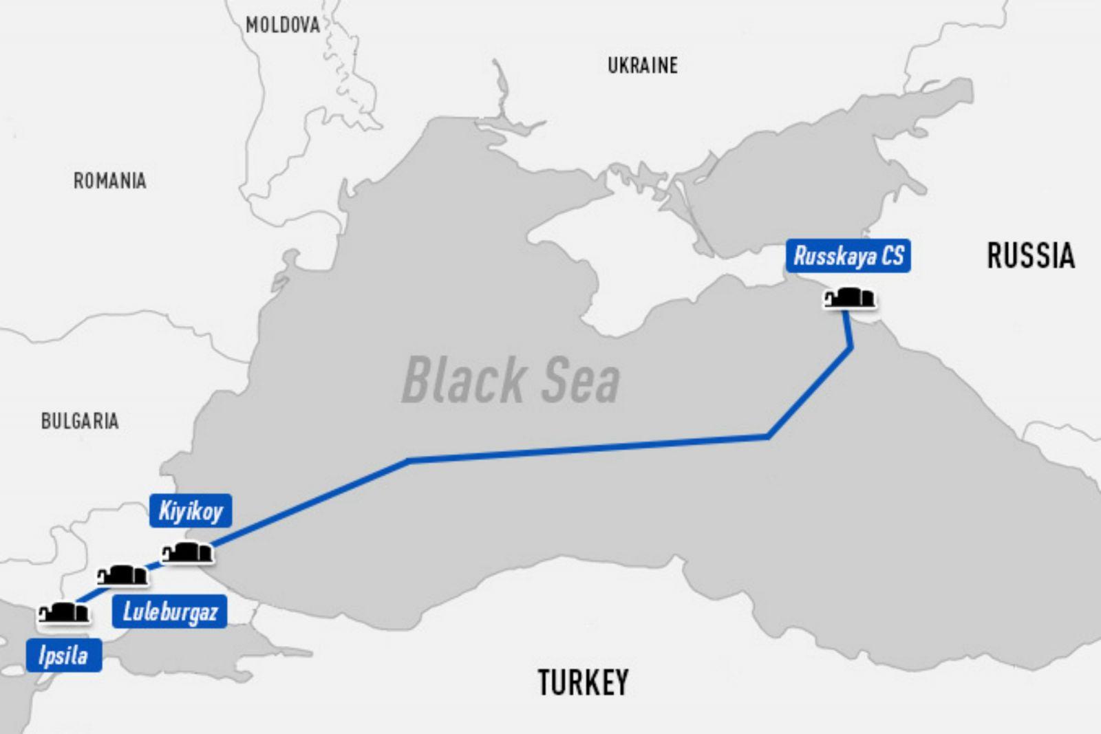خط لوله ترکیش استریم مهم ترین پروژه های نفتی مهم ترین پروژه های نفتی 2017 1