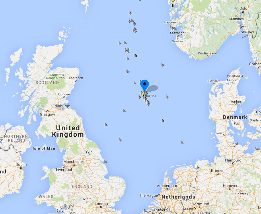 میدان اکوفیسک  10میدان بزرگ نفتی در دریای شمال 3