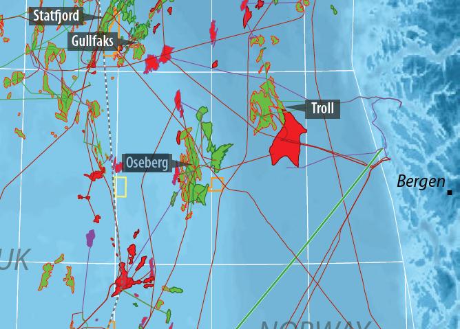 میدان اوسیبرگ  10میدان بزرگ نفتی در دریای شمال 5