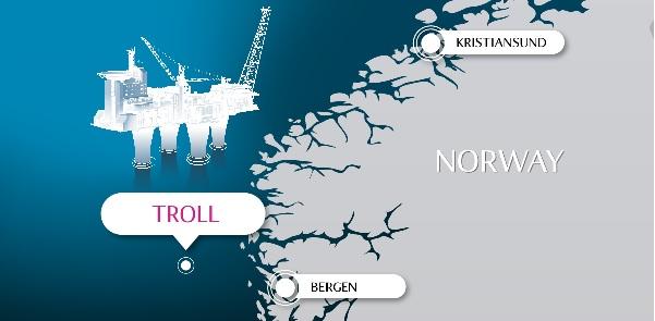 میدان ترول غربی  10میدان بزرگ نفتی در دریای شمال 77