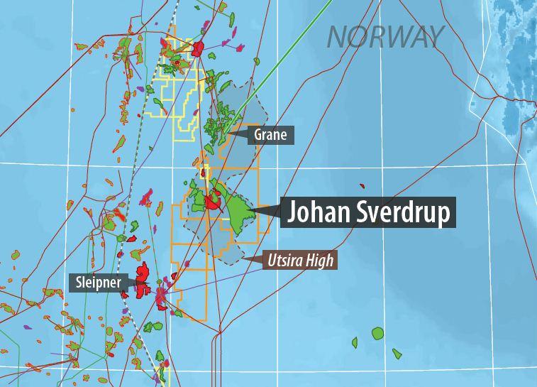 میدان جوهان سویردراپ  10میدان بزرگ نفتی در دریای شمال 9
