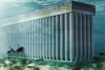 ذخیره انرژی آب دریا بوسیله دیوار شناور