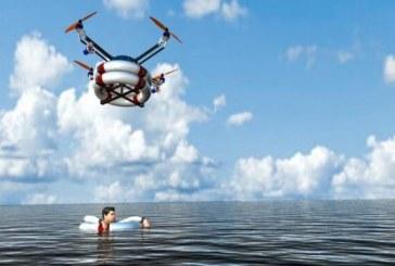 ربات امداد هوایی برای نجات غرق شدگان در دریا
