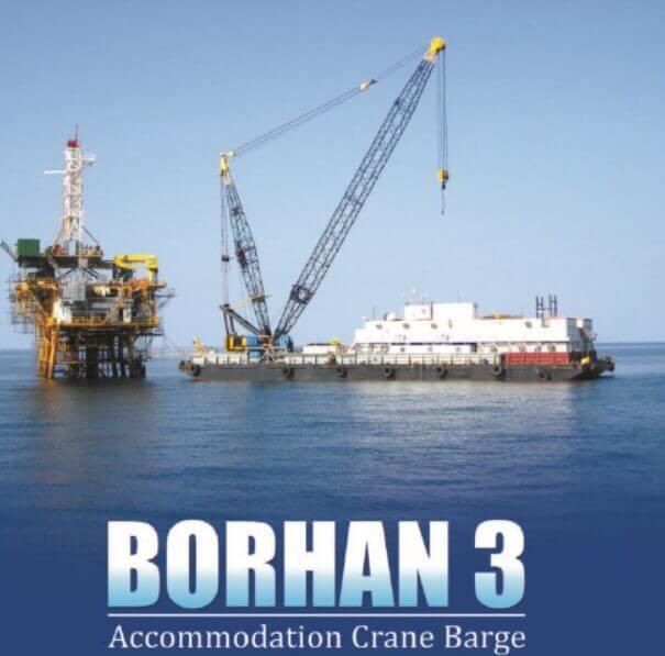 بارج اسکان Borhan 3 b3