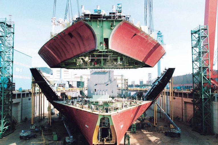 کشتیسازی روزگار طلایی کشتیسازی کره offshore113 765x510