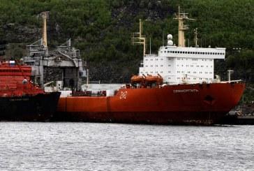 اولین کشتی با سوخت هستهای در مسیر دریای شمال