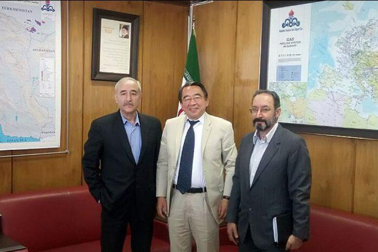 معاون وزیر نفت با مدیرعامل jccp ژاپن گفتگوکرد offshore224 765x510