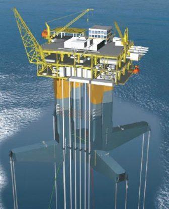 offshore369 سکوهای پایه کششی آشنایی با سکوهای پایه کششی (Tension Leg Platform) offshore369