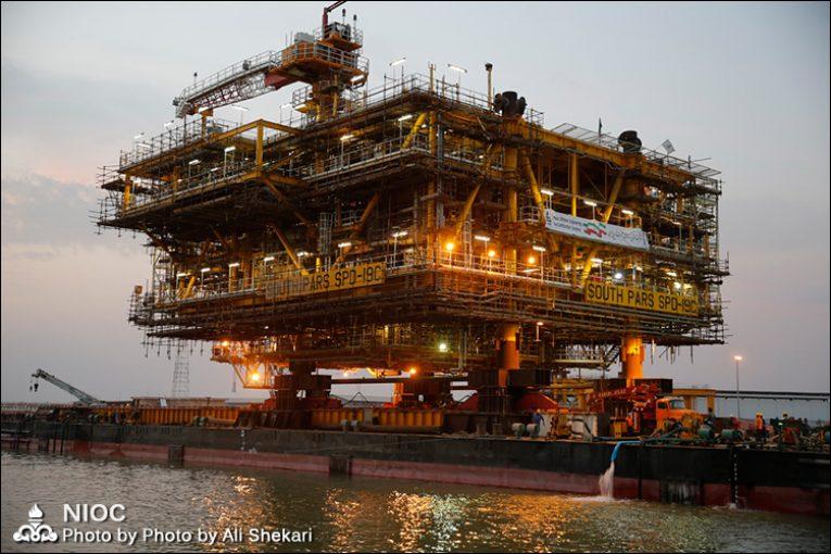 پارس جنوبی عملیات ساخت سکوها با ۱۰۰ درصد توان و ظرفیت داخلی اجرا میشود offshore374 765x510