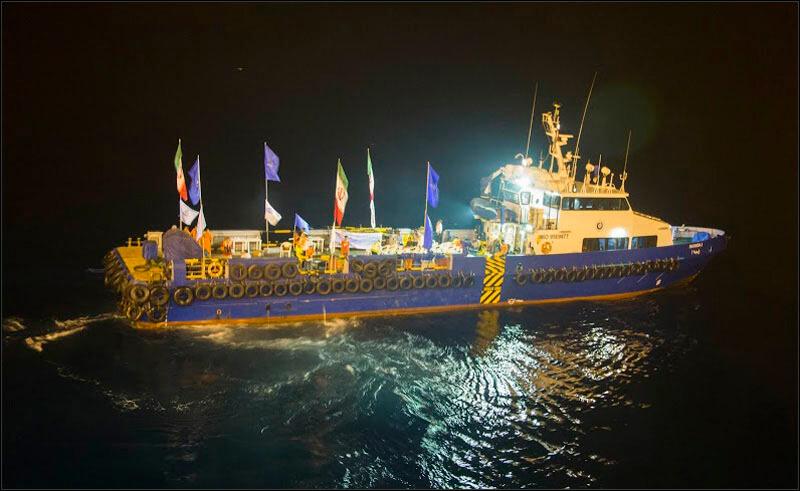 offshore579 copy فاز 21 پارس جنوبی گزارش تصويری از عمليات نصب سكوي فاز 21 offshore579 copy
