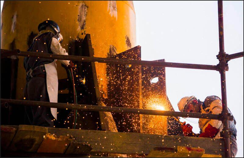 offshore588 copy فاز 21 پارس جنوبی گزارش تصويری از عمليات نصب سكوي فاز 21 offshore588 copy