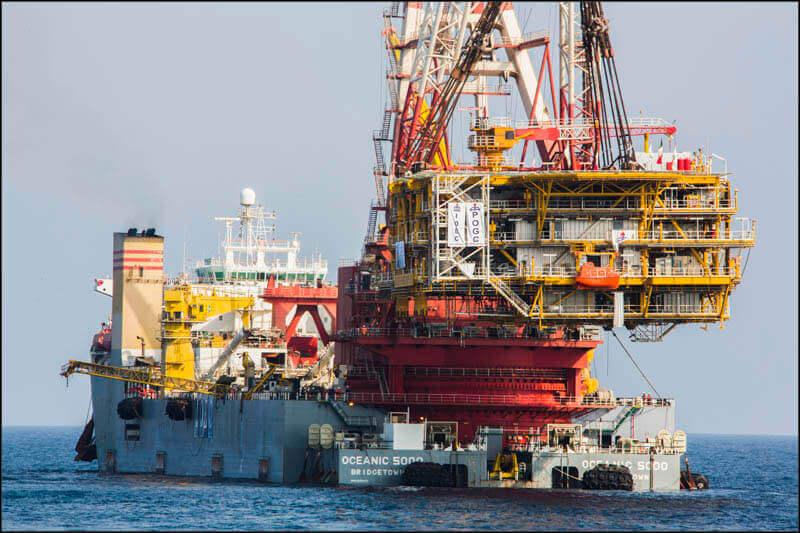 offshore591 copy فاز 21 پارس جنوبی گزارش تصويری از عمليات نصب سكوي فاز 21 offshore591 copy