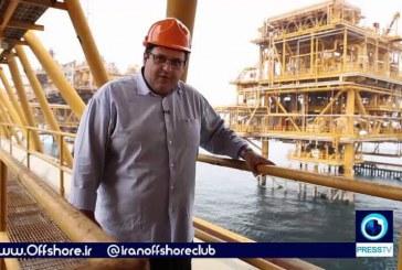 صنعت نفت و گاز  در جزیره خارک و سکوهای نفتی در این منطقه