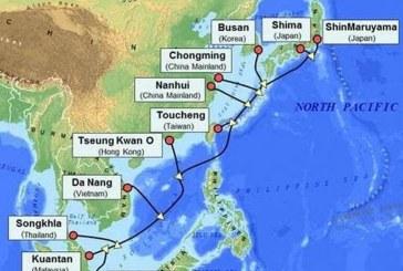 پایان ساخت کابل زیردریایی ۵۴ ترابیتی پاسیفیک