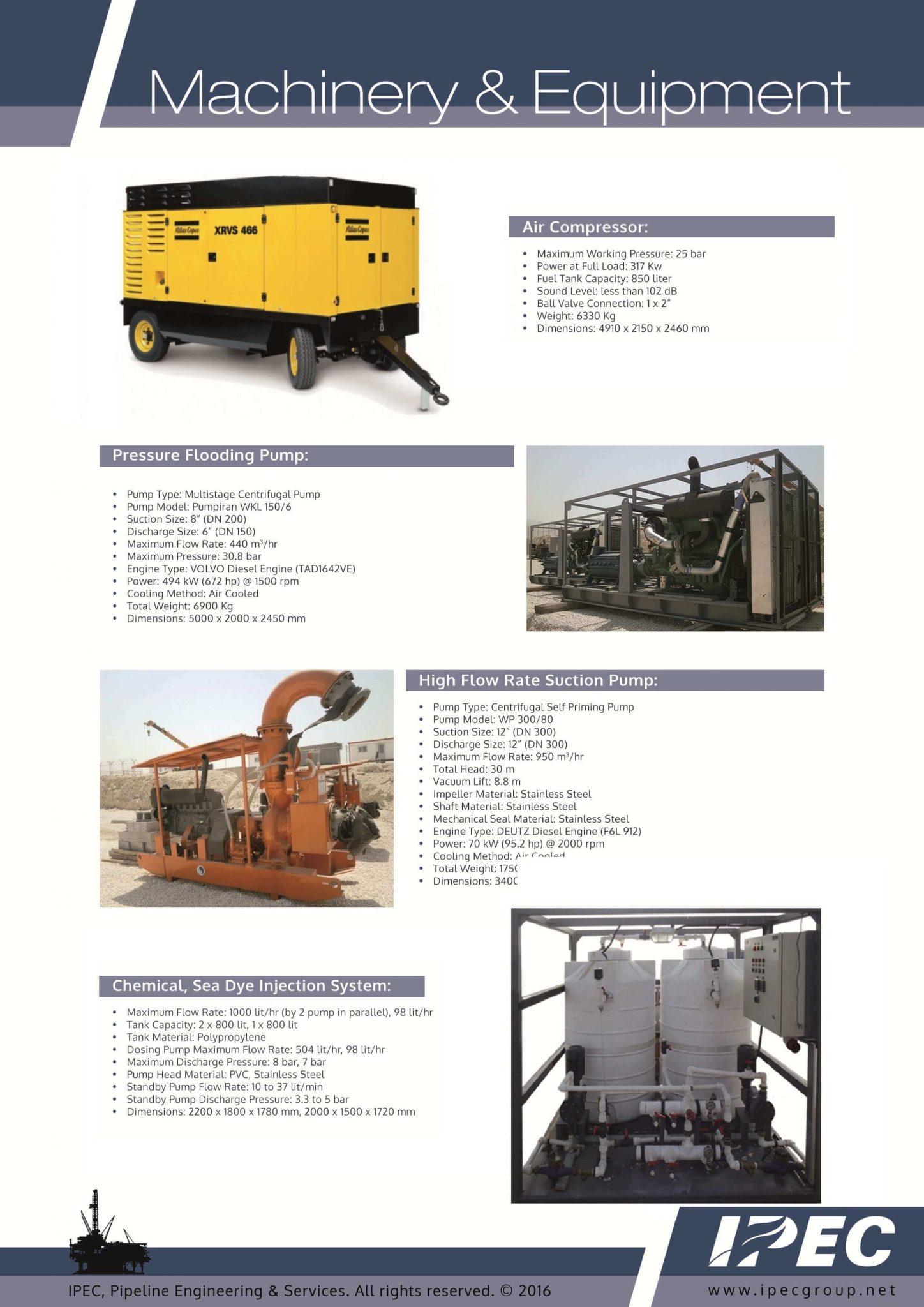 تامین کننده و اجاره تجهیزات نفت، گاز و پتروشیمی تامین کننده و اجاره تجهیزات نفت، گاز و پتروشیمی IPEC EQUIPMENTS