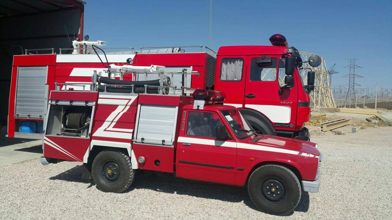 فروش ماشین آتش نشانی