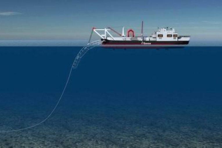 لوله گذاری زیردریایی لوله گذاری زیر دریا لوله گذاری زیر دریایی ایران؛ از دیرباز تا فردا Pipelaying vessel 03 765x510