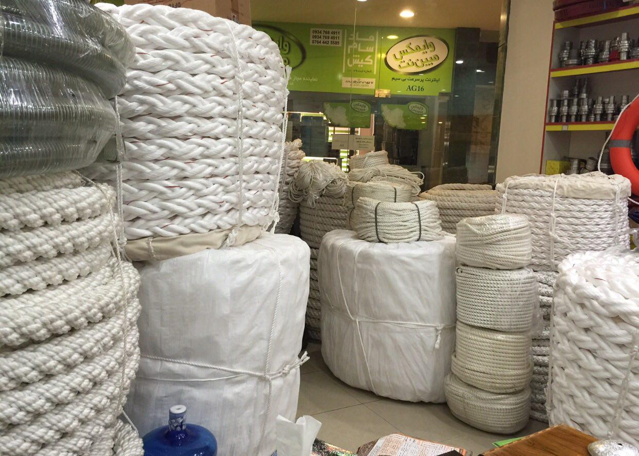 طناب های صنعتی طنابهای ابريشمی طنابهای ابريشمی 36